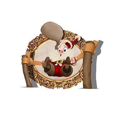 Święto / 3D Naklejki Naklejki ścienne 3D Dekoracyjne naklejki ścienne,pvc Materiał Dekoracja domowa Naklejka