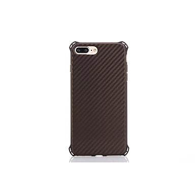 Για Ανθεκτική σε πτώσεις tok Πίσω Κάλυμμα tok Μονόχρωμη Σκληρή Ανθρακονήματα για Apple iPhone 7 Plus / iPhone 7