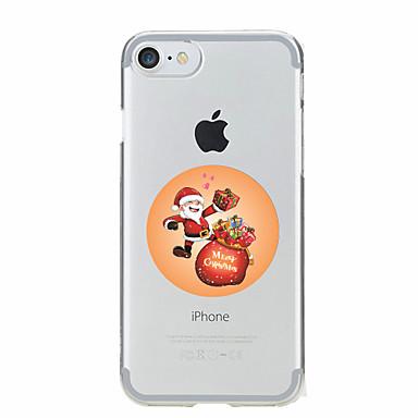 Için Temalı Pouzdro Arka Kılıf Pouzdro Noel Yumuşak TPU için AppleiPhone 7 Plus / iPhone 7 / iPhone 6s Plus/6 Plus / iPhone 6s/6 / iPhone