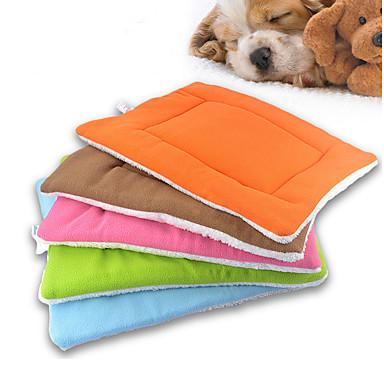 رخيصةأون مستلزمات وأغراض العناية بالكلاب-ناعم الكلب الملابس الأسرّة أخضر / أزرق / زهري قط / كلب
