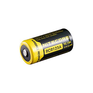 nitecore nl166 650MAH 3.7V 2.4wh 18650 ليثيوم أيون قابلة للشحن
