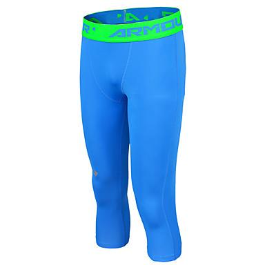 Miesten Juoksutrikoot Nopea kuivuminen Hikeä siirtävä Mukava Aurinkovoide Puristus Pants Verryttelypuku varten Kuntoilu Kilpailu