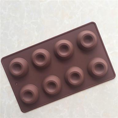 paistopinnan Jää Suklaa Pitsa Piirakka Cupcake Cookie Kakku Leipä Other Silikoni DIY Korkealaatuinen 3D Tarttumaton