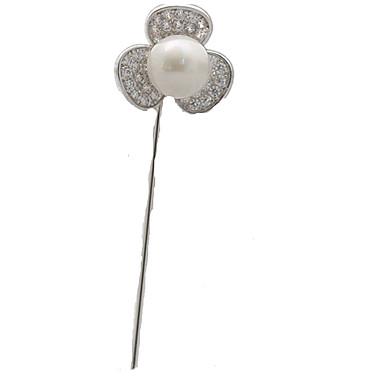 Γυναικεία Καρφίτσες κοσμήματα πολυτελείας Προσομειωμένο διαμάντι Κοσμήματα Για Καθημερινά