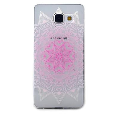 tok Για Samsung Galaxy A5(2016) A3(2016) Διαφανής Με σχέδια Πίσω Κάλυμμα Λουλούδι Μαλακή TPU για A5(2016) A3(2016)