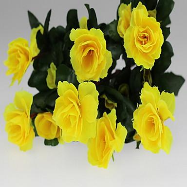 1 Κλαδί Πλαστικό Others Others Azalea Λουλούδι για Τραπέζι Ψεύτικα λουλούδια