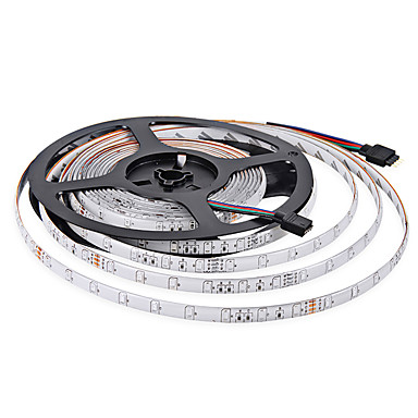 led ışık çubuğu 3528 DC12V 60leds 5m / lot esnek ışıklar 3528 ışık bar su geçirmez led rgb led