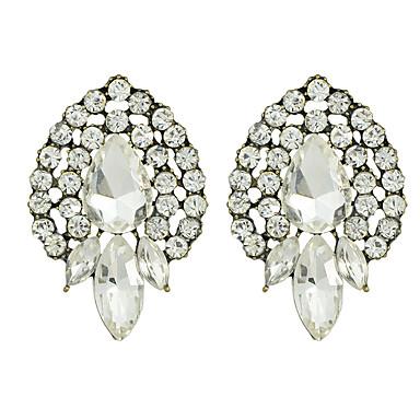 Σκουλαρίκι Κουμπωτά Σκουλαρίκια Κοσμήματα Γυναικεία Πάρτι Κράμα 1 ζευγάρι Όπως στην εικόνα