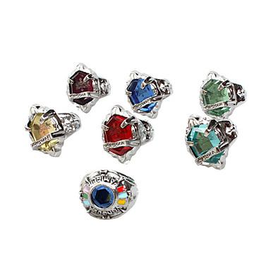 مجوهرات مستوحاة من Cosplay Cosplay أنيمي Cosplay زينة خاتم سبيكة ذكر أنثى