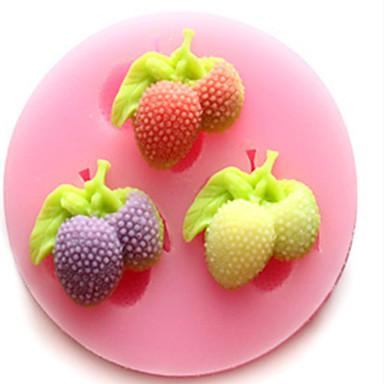 6cm*1.2cm Forma do pieczenia na ciasto / Na lodzie / dla czekolady Silikon Wysoka jakość / Nieprzylepny / DIY / 3D