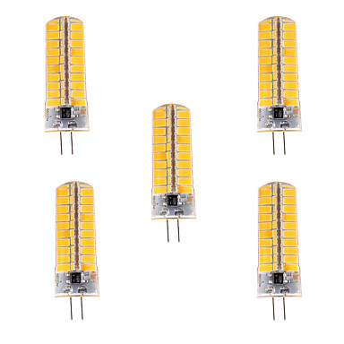 G4 LED-maissilamput T 80 ledit SMD 5730 Himmennettävissä Koristeltu Lämmin valkoinen Kylmä valkoinen 500-700lm 2800-3200/6000-6500