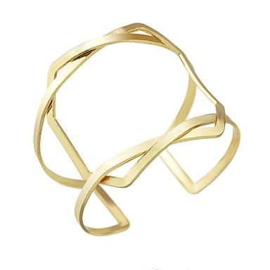 Naisten Rannekkeet Friendship Metalliseos Cross Shape Korut Hopea Kultainen Korut Varten Kausaliteetti 1kpl