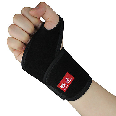 مشد اليد و المعصم داعم للمعصم إلى كرة الريشة ركض الفرق الرياضية للجنسين من السهل خلع الملابس الحرارية / الدافئة واقي الرياضة الأماكن