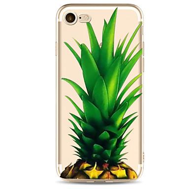 Için Ultra İnce / Temalı Pouzdro Arka Kılıf Pouzdro Meyve Yumuşak TPU için AppleiPhone 7 Plus / iPhone 7 / iPhone 6s Plus/6 Plus / iPhone