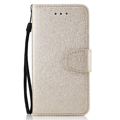 Varten Lomapkko / Korttikotelo Etui Kokonaan peittävä Etui Yksivärinen Kova Tekonahka varten Samsung S7 edge