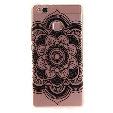 Pentru huawei p9 lite p8 lite tpu material imd proces floarea-soarelui model telefon caz pentru y6ii bucura 5 onoare 8