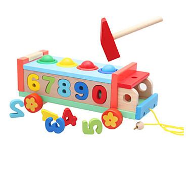 Jucării pentru mașini Mingi Jucarii pentru matematica Jucării Educaționale Jucarii Novelty Lemn 1 Bucăți Fete Băieți Zuia Copiilor Cadou