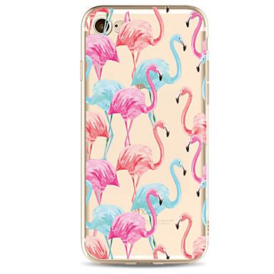 Για Θήκη iPhone 7 Θήκη iPhone 7 Plus Θήκη iPhone 6 Θήκες Καλύμματα Εξαιρετικά λεπτή Με σχέδια Πίσω Κάλυμμα tok Φοινικόπτερος Μαλακή TPU