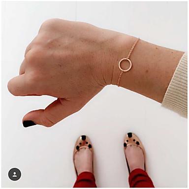 Femme Chaînes & Bracelets - Amour Style Simple Bracelet Argent / Doré Pour Quotidien / Décontracté