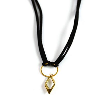 Damskie Naszyjniki z wisiorkami Geometric Shape Stop Podstawowy minimalistyczny styl Biżuteria Na Codzienny
