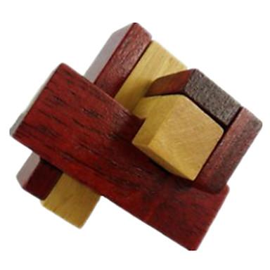 Puzzle Lemn Jocuri de Inteligență Kong Ming Lock Luban de blocare Jucarii Jucarii Test de inteligenta Lemn Fete Băieți Bucăți