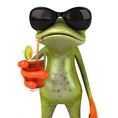 ziqiao 3d żaby wodoodporne naklejki samochodowe samochody śmieszne Gecko&motocykle kalkomanii naklejkę
