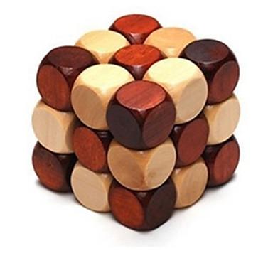 هونغ مينغ قفل مربع خشب 5 ل 7 سنوات 8 ل 13 سنة 14 سنة و فوق