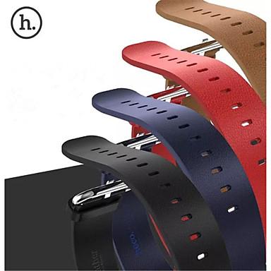 Pulseiras de Relógio para Apple Watch Series 3 / 2 / 1 Apple Watch Series 3 Apple Tira de Pulso Fecho Clássico Couro