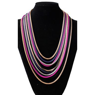 Pentru femei Formă Design Circular Tambur Aliaj Tambur Nuntă Casual Costum de bijuterii