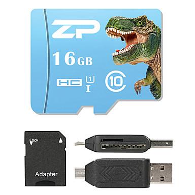 ZP 16GB MicroSD فئة 10 80 Other متعددة في قارئ بطاقة واحدة مايكرو التنمية المستدامة قارئ بطاقة SD قارئ بطاقة ZP-1 USB 2.0
