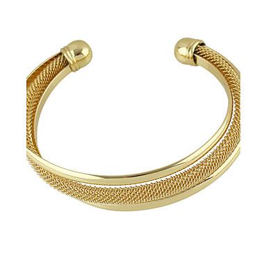 Bransoletki Bransoletki cuff Stop Others Przyjaźń Casual Biżuteria Prezent Złoty,1szt