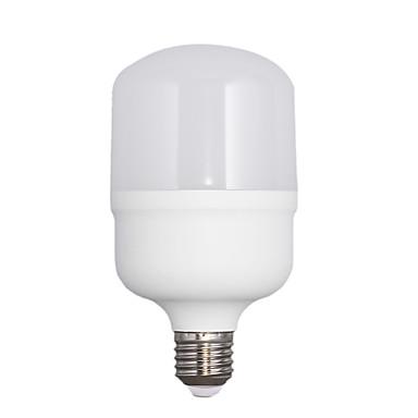 E26/E27 Bulb LED Glob T80 30 led-uri SMD 2835 Alb Cald 3000lm 3000KK AC 220-240V