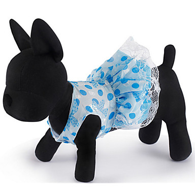 Σκύλος Φορέματα Ρούχα για σκύλους Καθημερινά Πουά Στολές Για κατοικίδια