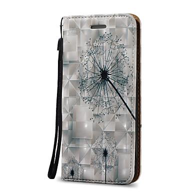 Kılıf Na Samsung Galaxy S7 edge S7 Etui na karty Portfel Flip Futerał Mniszek lekarski Twarde Sztuczna skóra na S7 edge S7 S6 edge plus