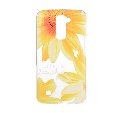 Kılıf Na LG G3 LG K8 LG LG K10 LG K7 LG G5 LG G4 Wzór Czarne etui Kwiaty Miękkie TPU na LG V20 LG V10