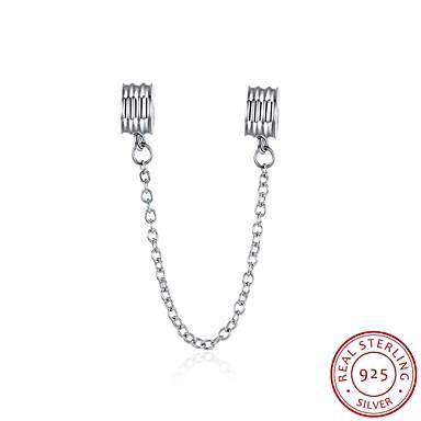 Stilul euramerican moda bijuterii populare 925 accesorii lanț de siguranță de argint