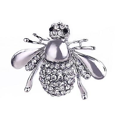 muoti nainen metalliseos mehiläinen rintakoru