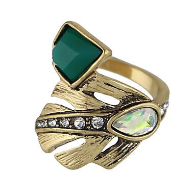 Κρίκοι Causal Κοσμήματα Κράμα Γυναικεία Δαχτυλίδι 1pc,7 Χρυσαφί