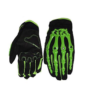 Full Finger Dla obu płci Rękawice motocyklowe Gumowy Oddychający
