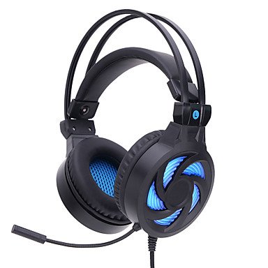 cheap Gaming Earphones-SY855MV Gaming Headset Wired Gaming Luminous