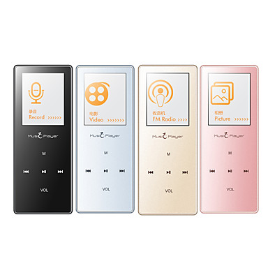 MP3/MP4Player8GB 3.5mm Jack Card Micro SD Tactil