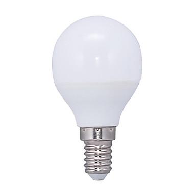 E14 LED Küre Ampuller G45 14 led SMD 2835 Sıcak Beyaz 3000lm 3000KK AC 220-240V