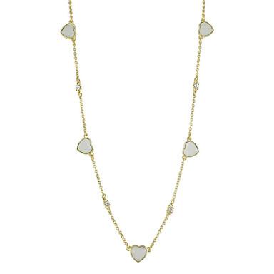 Damskie Naszyjniki z wisiorkami Biżuteria Stop Klasyczny Modny Gold Biżuteria Na Casual 1szt