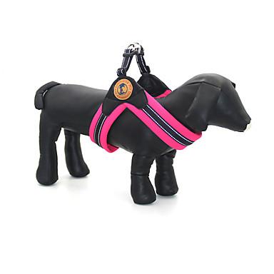 Σκύλος Εξαρτύσεις Προσαρμόσιμη / Τηλεσκοπικό Αντανακλαστικό Μονόχρωμο Ύφασμα Σκούρο μπλε Τριανταφυλλί Πράσινο