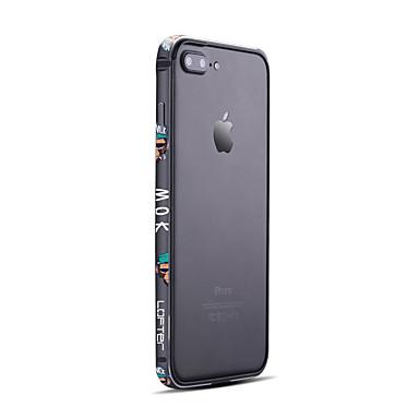 Uyumluluk iPhone 7 Kılıf iPhone 7 Plus Kılıf Kılıflar Kapaklar Buzlu Tampon Pouzdro Punk Sert Aluminyum için Apple iPhone 7 Plus iPhone 7