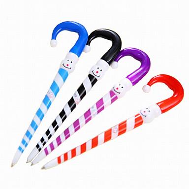 Στυλό Στυλό διαρκείας Στυλό,Πλαστικό Βαρέλι Μπλε μελάνι Χρώματα For Σχολικές προμήθειες Προμήθειες γραφείου Πακέτο