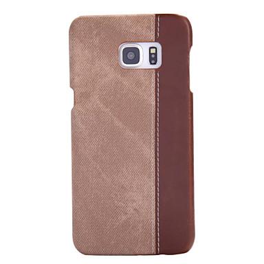 Недорогие Чехлы и кейсы для Galaxy S6 Edge-Кейс для Назначение SSamsung Galaxy S7 edge / S7 / S6 edge plus Защита от пыли Кейс на заднюю панель Полосы / волосы Твердый ПК