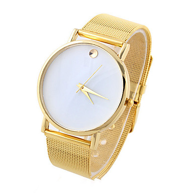 Erkek Spor Saat Elbise Saat Moda Saat Quartz Alaşım Bant Günlük Çok-Renkli