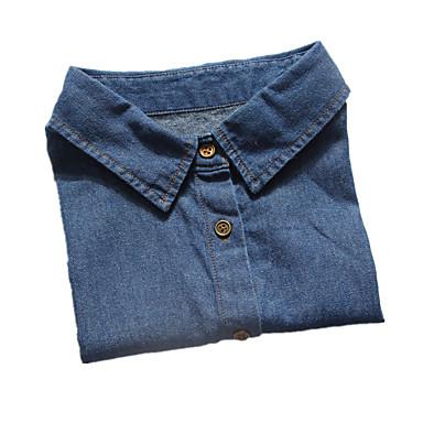 Bărbați Dame Guler Piele  Design Basic Albastru Bijuterii Zilnic Casual 1 buc