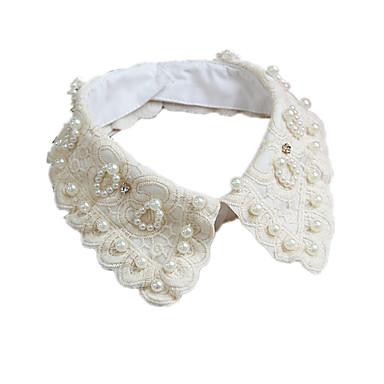 Dame Guler Imitație de Perle Ștras Perle Imitație de Perle Dantelă Ștras Design Basic Bijuterii Pentru Zilnic Casual